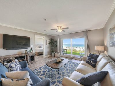 Photo for Stunning 3 BR Gulf-Front Condo w/ Gulf Views! 20% OFF September Stays!