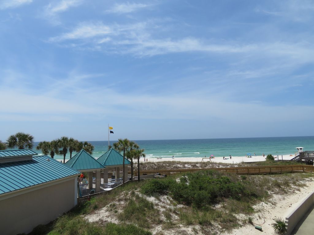 Beachfront Condo on the beautiful sugar white sands of ...