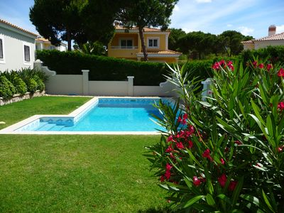 Photo for VILAMOURA villa with private pool quietly near golf courses