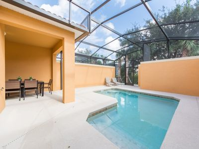 Photo for Home near Disney w/ WiFi, Pool, Complex Pools, Jacuzzi, Gameroom & Fitness Area