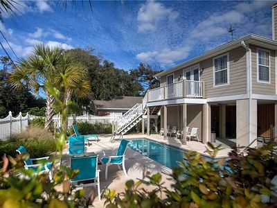 Photo for 100 Yards from the beach with private pool!