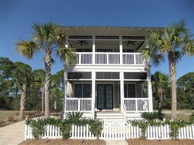 "Photo for 4-bedroom home built 2012, ""Knee Deep,"" close by the beach!"