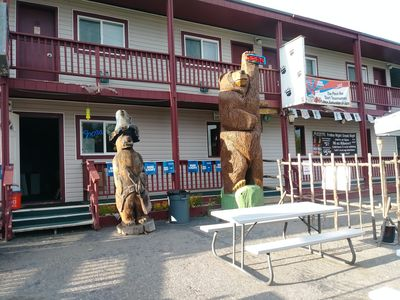 Photo for Small owner operated motel near the Kenai river & world class salmon fishing.