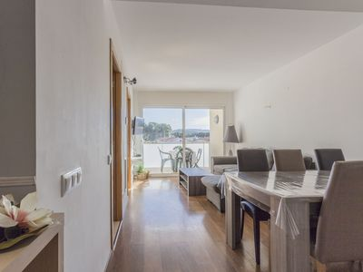 Photo for Apartment 30 meters from the Riells beach to 4 people with two bedrooms (one double bed an