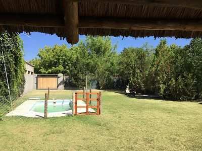 Photo for Nice house with swimming pool in Chacras de coria