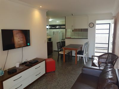 Photo for Residence Dragao do Mar, two bedrooms, two full bathrooms, na praia de Iracema.