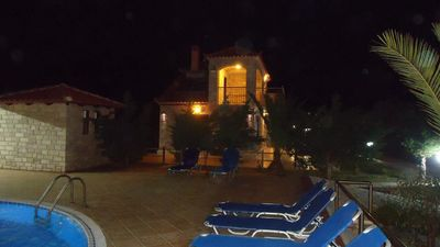 Photo for Glyfada Villas || 6 minutes walking from the beach