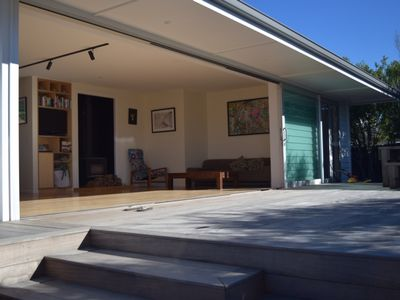 Photo for Architecturally designed bach at Papamoa Beach