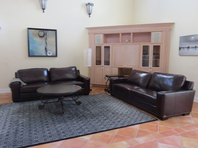 Photo for Beautiful 3 bedroom house 10 min from the beach with a shared pool.