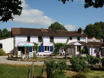 Photo for L'Ecurie (1 Bedroom, Sleeps 2)  Renovated 16th Century Farmhouse with Pool