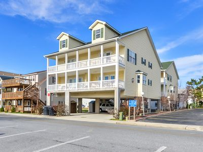 Photo for Stylish, upscale 3 bedroom condo with a television in every bedroom and living room, free WiFi, and two floors located downtown only a few streets from the boardwalk and only steps to the beach!