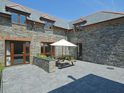 Photo for Beautiful, natural stone holiday home with garden, en suite bathroom and a king size bed