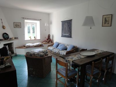 Photo for Charming property in village centre,beach 250m, garden,ample parking,sleeps 8/10