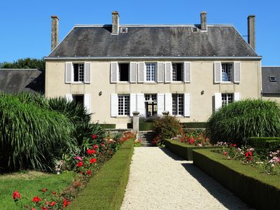 Photo for Authentic Normandy Manor between Bayeux & the D-Day beaches