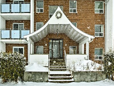 Photo for NEW! Blind River Apt. w/ Balcony & River Views!