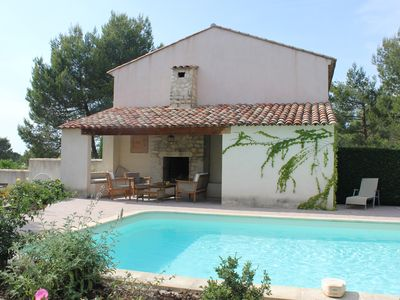Photo for Superb Villa with Private Pool set in Pont Royal du Golf with Luberon Views