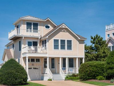 Photo for Hilltop Haven: 3 BR / 3 BA house in Corolla, Sleeps 9