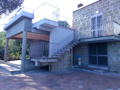 Photo for Chalet on the southern slope of the hill of Monte Maggiore, quota ml. 400 s. L.M.