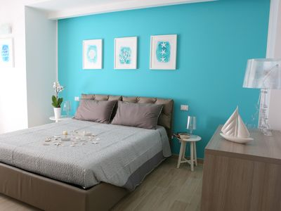"Photo for Brand new for 6 people to 300 meters from the sea with bedroom ""family"""