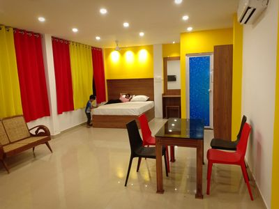 Photo for Adam's Holiday home is a studio type apartment (500sqft) with attached bathroom.