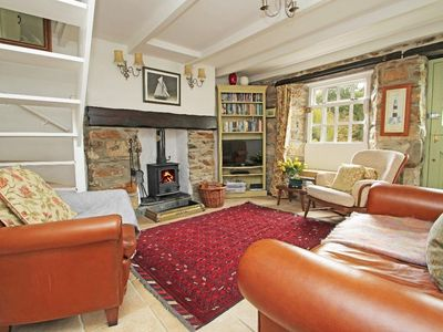 Photo for MAY COTTAGE, family friendly, with open fire in Pentewan, Ref 959309