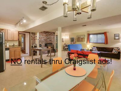 Mid Century Neighborhood 3 blks to Reed College Pet Friendly 1BD/1BA W PINBALL!!