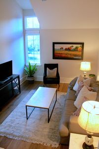 Photo for Brand new one bedroom apartment in quiet neighborhood. High ceilings!