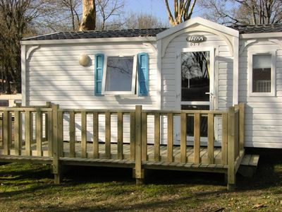 Photo for Camping Walmone *** - Mobil Home 2 Rooms 4 People