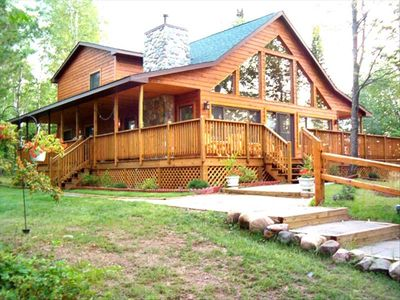 Photo for North Wisconsin Private Island Vacation Home!!