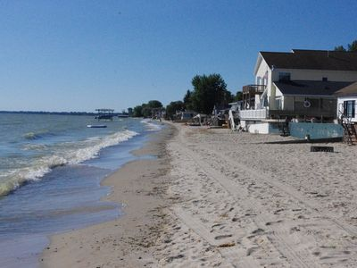 Beachfront Lake Huron Home on Brissette Beach ~ Relax and enjoy the beauty! ~