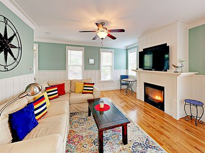 Photo for Beach Eden w/ Private Hot Tub, Fire Pit & Pool - Walk to the Beach