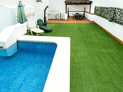 Photo for Duplex with pool (exclusive of the floor) and large terrace in the center of Seville.