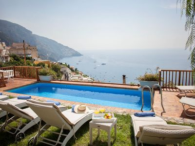 Photo for A PANORAMIC MODERN VILLA IN POSITANO WITH PRIVATE POOL