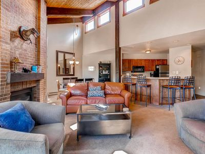 Photo for Enjoy Views in Top Floor Home w High Ceilings -Walk to Slopes -Discount Lift Tix