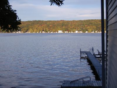 Photo for Reed and Relax on Conesus Lake. This 3 bedroom cottage that sleeps 8.