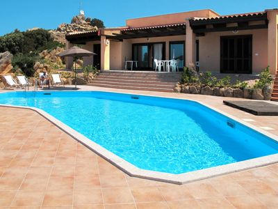 Photo for 3 bedroom Villa, sleeps 8 with Pool, Air Con, FREE WiFi and Walk to Shops