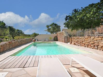 Photo for Secluded Apartment in Villesèque with Pool