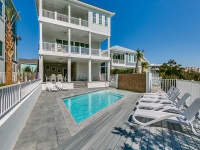 Photo for · New, Luxury 5BR/5.5BA Villa -Private Pool, Swash View, Next to Beach