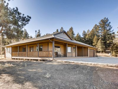 Photo for Grey Wind Ranch- Custom Ranch Home/ 3 Bedroom/2 Bath/Fire Pit/ RV Hookup/ NEW HOT TUB!