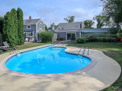 Photo for Private, Updated 4+ Acre Family Compound, Pool, Water Views, Sunsets: 071-D