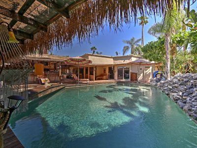 Photo for Luxurious Rancho Mirage Home w/Outdoor Oasis & Bar