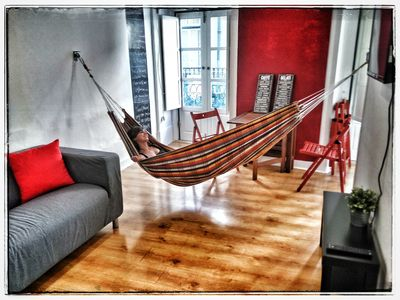 Photo for Hammock flat in Bairro Alto