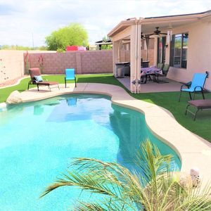 Photo for Private Pool, 4 Bedroom, 2 Bath,  Great backyard, & perfect Goodyear location