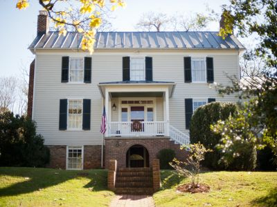 Photo for CHARMING 1850 FARMHOUSE LESS THAN 3 MILES FROM THE HEART OF CHARLOTTESVILLE