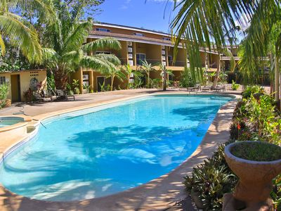 Photo for Tropical Townhome Cabo Velas with beautiful pool area