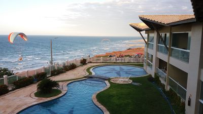 Photo for Furnished apartment in the best condo Canoa Quebrada, facing the sea.