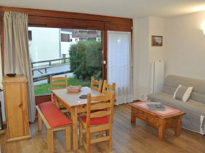 Photo for 2 rooms 36m2 ground garden Morillon les Esserts, well equipped, 50m from the chairlift