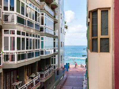 Photo for Beautiful Beach Apartment M&B IV by Las Canteras
