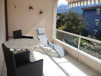Photo for Apartment in residence in a quiet location with indoor pool, sauna and sunbathing area