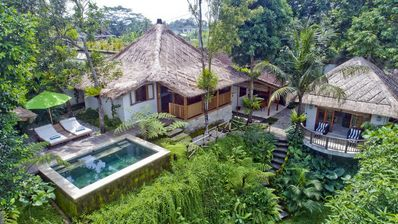 Photo for Mambo, Luxury 2 Bedroom Villa, Feature Gardens, Near Ubud